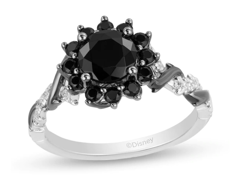 Non-traditional engagement ring