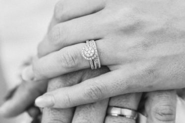What is the difference between an engagement ring and wedding ring?