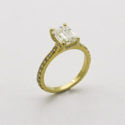 10 Yellow Gold Engagement Rings We Love