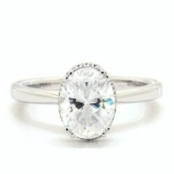 9 Oval Engagement Rings We Love